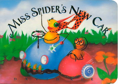 Miss Spider's New Car Board Book