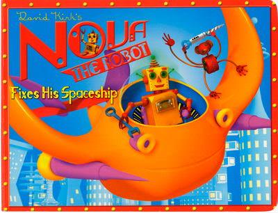 Nova the Robot Fixes His Spaceship