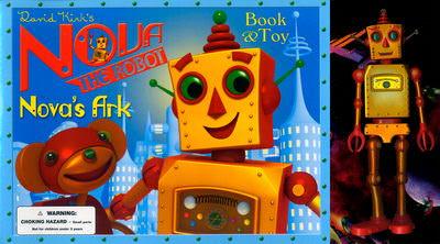 Nova the Robot Nova's Ark Book & Toy